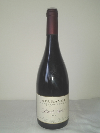 Ata Rangi Pinot Noir, Martinborough, New Zealand